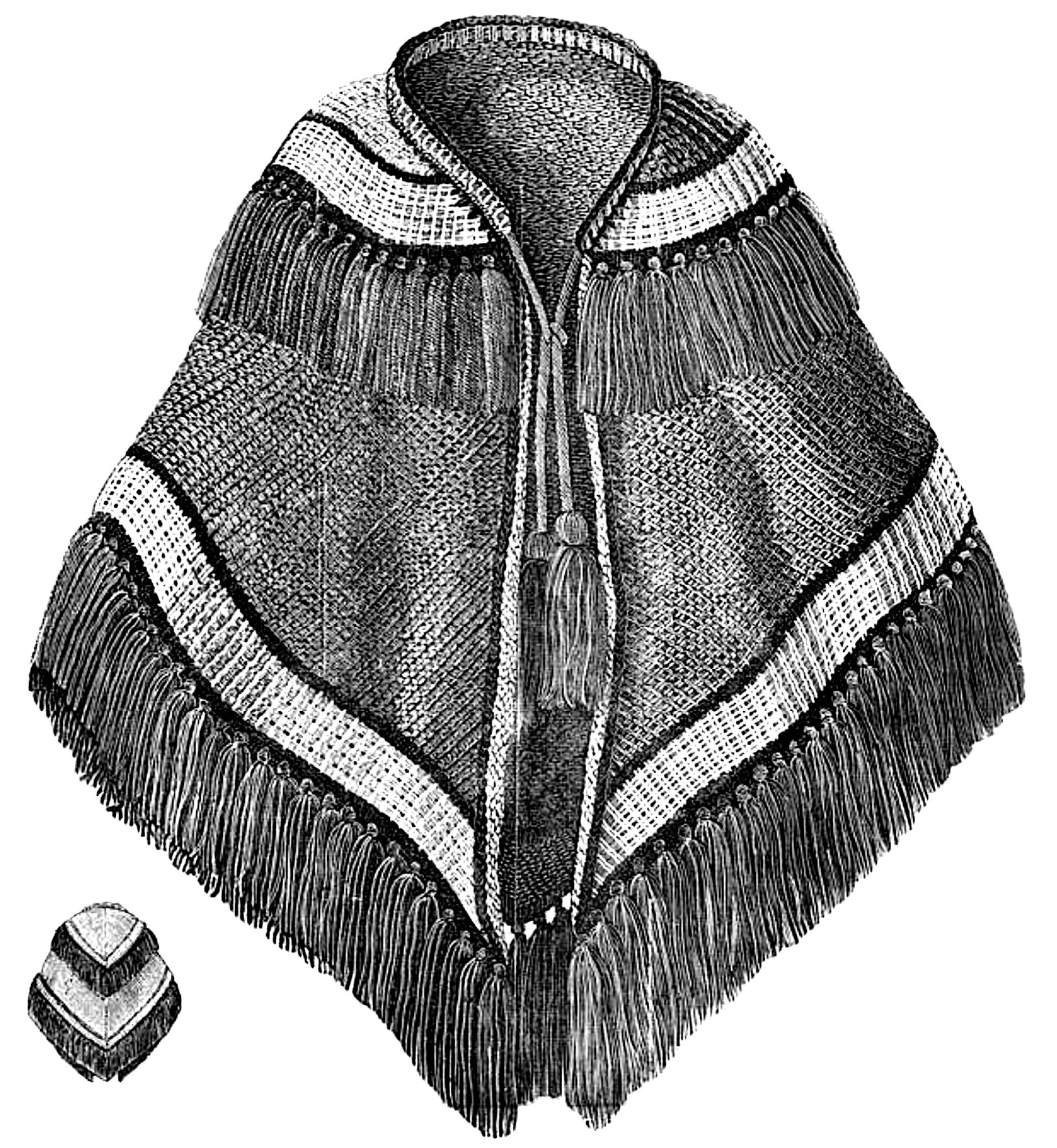 German 1858 cape