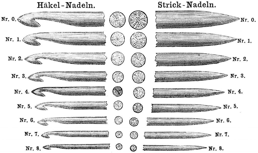 Bazar hook and needle gauge