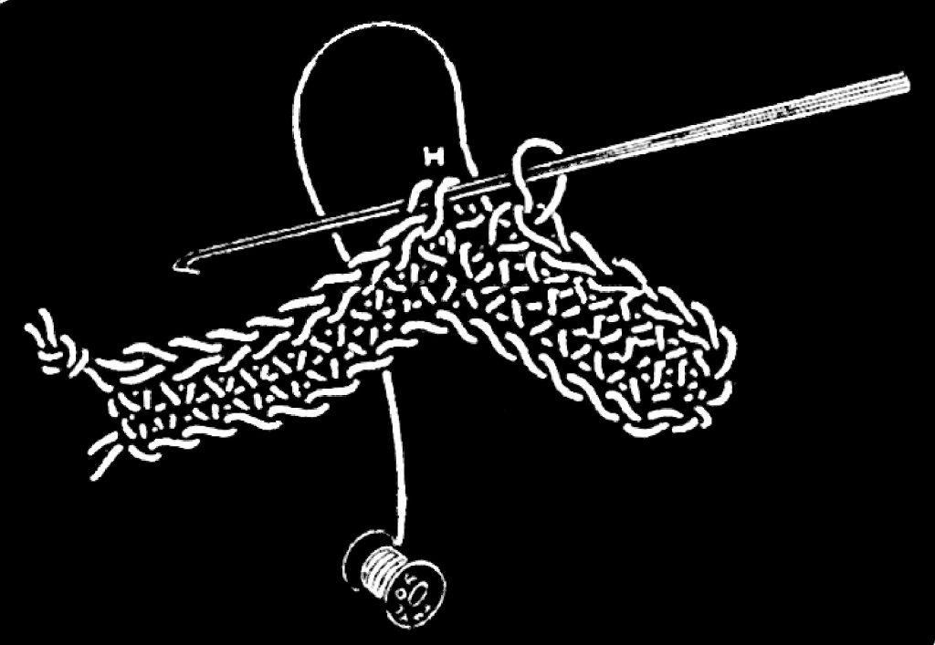 Riego's double crochet stitch