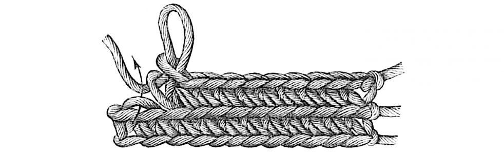 slanted stitch